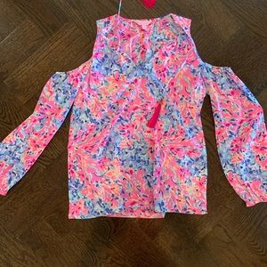 Lilly Pulitzer Peekaboo Top